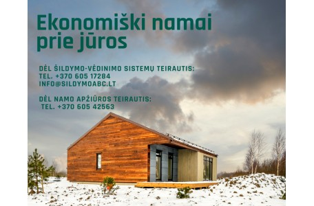 Nauja gyvenvietė su integruota šildymo - vėdinimo sistema !
