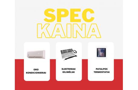 SPEC kaina perkant daugiau nei 1 prekę !