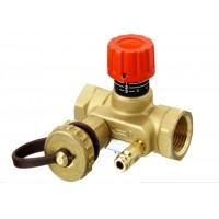 Rankinio nustatymo šildymo sistemos balansiniai ventiliai USV-I, 003Z2131