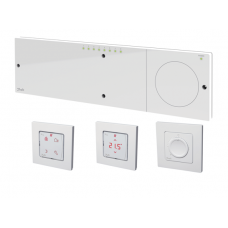Danfoss Icon™ 230V grindų šildymo valdiklis, 8/14 zonų su šaldymo ir temperatūros pažeminimo išvykus funkcijomis