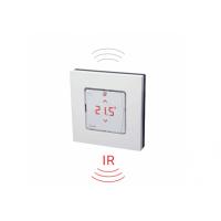 Danfoss Icon™ programuojamas patalpos termostatas,su ekranu, montuojamas ant sienos, su infraraudonųjų spindulių grindų temperatūros davikliu, belaidis, 088U1082