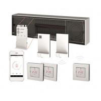 Danfoss Icon™ 24V grindų šildymo valdiklis, 15 zonų, matinimas 230V, pavaros 24V