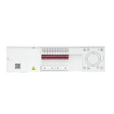 Danfoss Icon™ 24V grindų šildymo valdiklis, 15 zonų, matinimas 230V, pavaros 24V, 088U1142