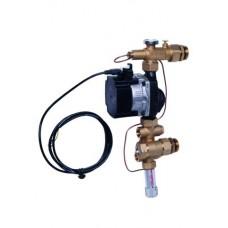 FMH grindų šildymo vandens temperatūros paruošimo mazgas