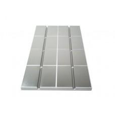 Danfoss SpeedUP šildymo plokštė su aliuminiu šildomoms grindims, 1000x500x30 mm, vamzdžių atstumas vienas nuo kito 250 mm, komforto zonos (CZ), 088X0100