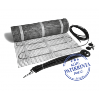 Šildomų grindų elektrinis  kilimėlis 0,5 m2  Danfoss ECTemp150 T, 220/230V, 088L0200