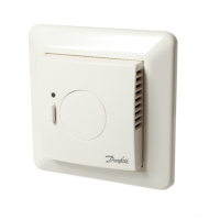 Danfoss LinkTM FT grindų termostatas su grindų temperatūros jutikliu. (ELKO) rėmeliui, 088L1905
