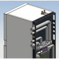 """""""Viessmann"""" hidraulikos prijungimų į viršų komplektas (privalomas priedas, taip pat galimas variantas į kairę/dešinę.)"""