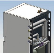 Viessmann hidraulikos prijungimo į viršų komplektas šilumos siurbliams (privalomas priedas, taip pat galimas variantas i kaire/dešine.)