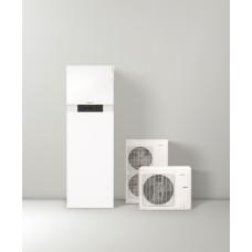 ORAS - VANDUO šilumos siurblys Viessmann VITOCAL 111-S 11,5 kW 400V šildymas su integruota 210L karšto vandens talpa, elektrinis šildytuvas (tenas) 9 kW